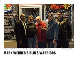 Mark Wenner's Blues Warriors Promo Photo